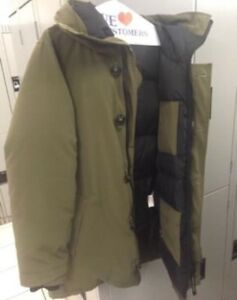 Canada Goose vest sale shop - MILITARY GREEN CANADA GOOSE JACKET SELLING | men's | Mississauga ...