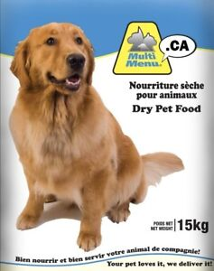 15kg bag Multi Value Dog Food