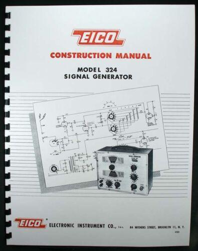 EICO Model 324 Signal Generator Construction Manual