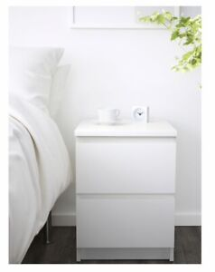 2x IKEA bedside tables for sale