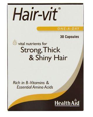 HealthAid Hair-Vit 30 Caps Hair For Hair Growth Essential Vitamins and Minerals