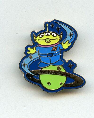 Disney Card Club Japan Toy Story Little Green Men Alien on Planet LE Pin