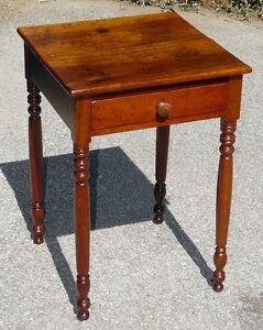 Antique Cherry Lamp Table or Bedside Table Kingston Kingston Area image 4
