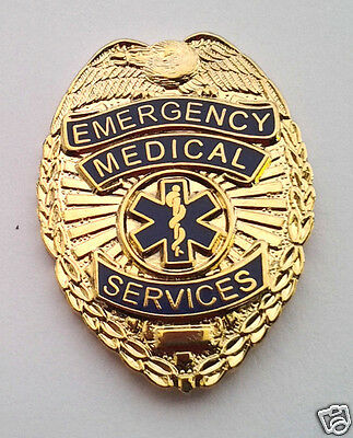 *** EMERGENCY MEDICAL SERVICES BADGE *** EMS Hat Pin 70110 HO