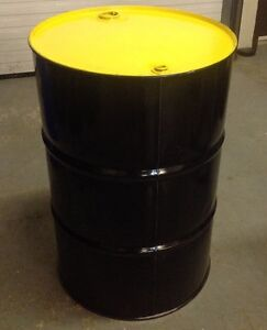55 GALLON STEEL DRUM FOR SALE