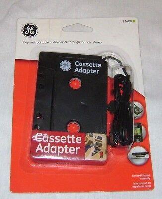 - NIP GE Car Cassette Tape Adapter Converter for CellPhone MP3 MP4 iPod Touch Nano