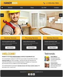 Professional Small Business Websites :: Web Design for Tradies Sydney City Inner Sydney Preview