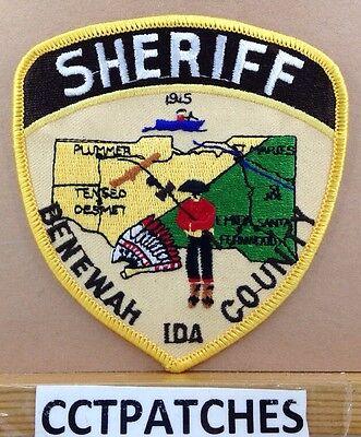 BENEWAH COUNTY, IDAHO SHERIFF (POLICE) SHOULDER PATCH ID