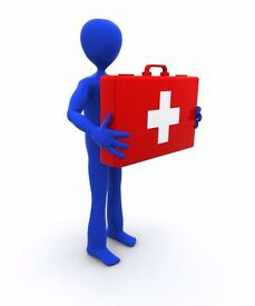 First Aid at Work, Level 3 Blended learning £190/candidate, 12-14th of July, King's Cross London