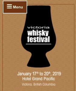 ISO: Victoria Whisky Fest tickets