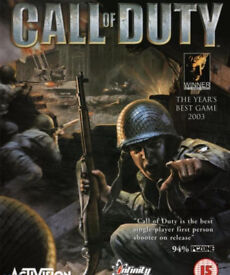 Call of Duty PS3 Game.