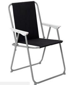 Unused Folding Garden Chairs (2)