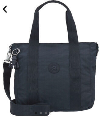 NEW WT Kipling Small Tote Bag ASSENI Small in Blue RRP £65