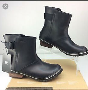 Sorel Leather boots Brand New with Tags