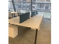Banks of 5 Desks