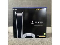 PlayStation 5 Digital Edition Ps5 brand new sealed collect today