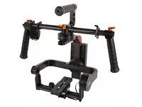 3 axis hand held gimbal stabiliser for dslr camera