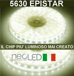 Striscia-LED-Strip-5630-luce-naturale-4500k-5m-300LED-Chip-EPISTAR-LUMINOSISSIMA