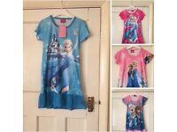 Disney frozen night dress age 4-5