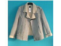 Pimkie grey jacket wool interior
