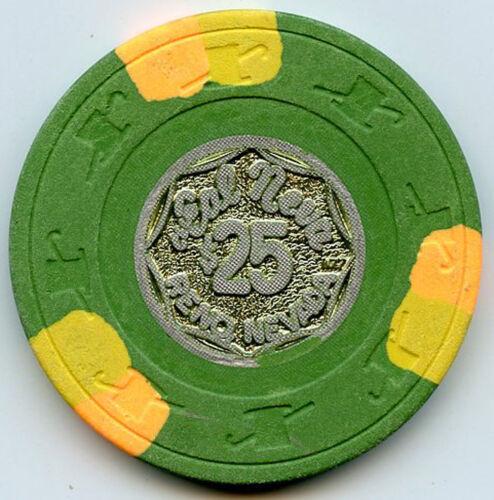 Club Cal-Neva Casino, Reno - $25 Chip - Metal Inlay - 1976