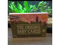 Baby milestone cards NEW SEALED