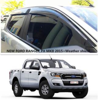 NEW Ford Ranger PX MKII 2015+ Weather shield #9114 Prestons Liverpool Area Preview