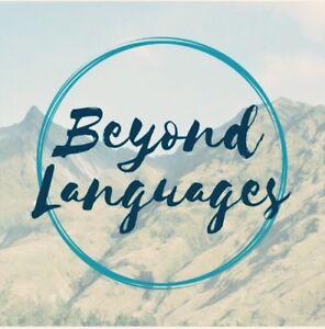 Online classes- English, Mandarin, French, Russian, German