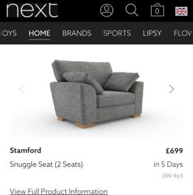 Sofas from next