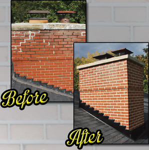 Quality Chimney Repair/Paverstone Installation and Roofing!