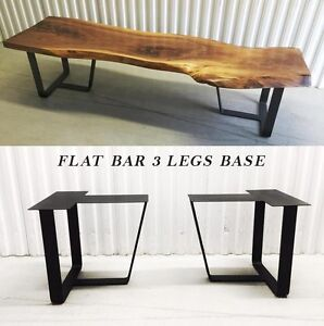DIY Steel Bench Legs, Coffee Table Legs, Table Base, Frame