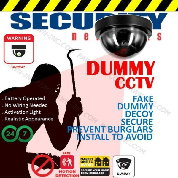 Dummy Dome CCTV Security Camera