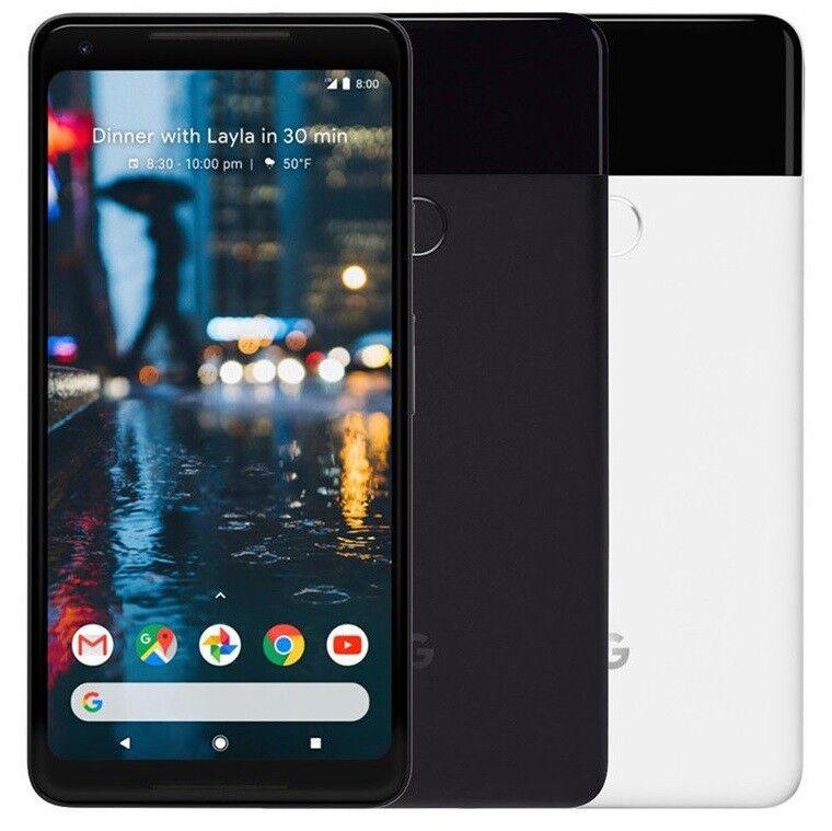 Android Phone - Google Pixel 2 - 64GB 128GB Verizon 4G Unlocked GSM Smartphone Cell Phone