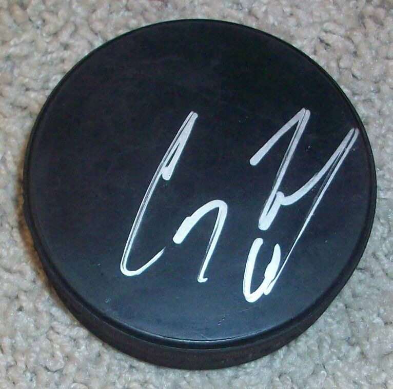 COREY PERRY ANAHEIM DUCKS TEAM CANADA SIGNED AUTOGRAPH PUCK A