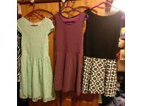6 dresses age 10-12