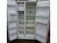 CHEAP AS CHIPS AMERICAN FRIDGE FREEZER FULLY SERVICED READY FOR USE £129.98...BE QUICK!!!