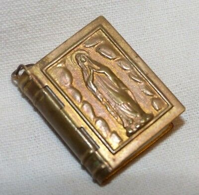 Book miniature prayer of the centenaire (compound by PIE 12TH) 1858/1958 Heavy