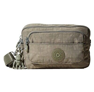 NEW Kipling Multiple Seagrass waist bum bag across body bag Rrp£63
