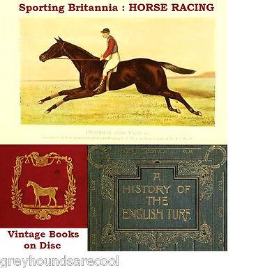Horseracing 49 Vintage Books on Disc Racehorses Stud Book Breeding Training etc