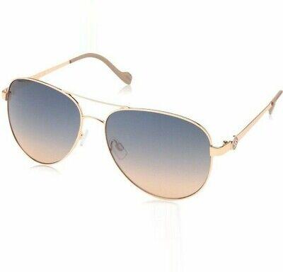 NEW women's JESSICA SIMPSON J5596  aviator gold (Jessica Simpson Gold Aviator Sunglasses)