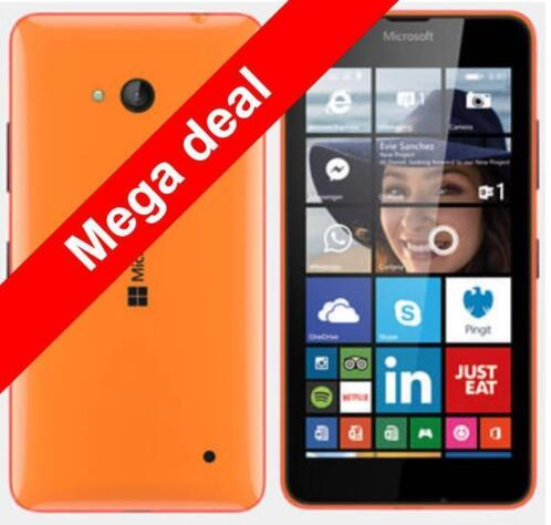 Microsoft Lumia 640 LTE | 5-inch 720x1280 | 1GB | 8GB | 8mp