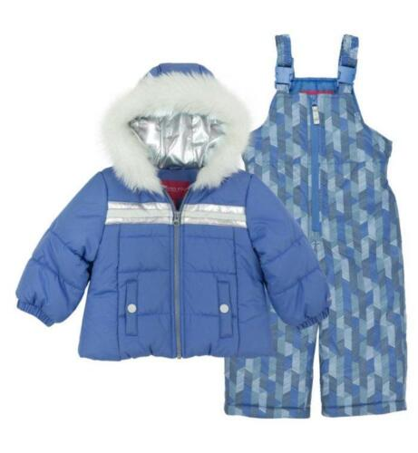 LONDON FOG® Toddler Girl 4T Periwinkle 2-Pc. Jacket & Snows