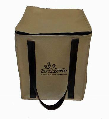 LOT OF 12 PIECES - ARTIZONE NON-WOVEN POLYPROPYLENE REUSABLE GROCERY TOTE BAGS - Non Woven Polypropylene Tote