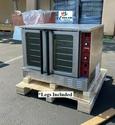 New Commercial Electric Convection Oven Full Size W Legs Kitchen Nsf Etl 240v