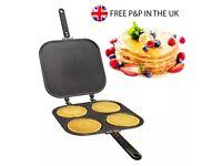 4 in 1 pan for eggs, pancakes & omelette