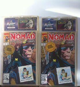 2 Different Sealed Packages of Nomad Comics Mint Condition