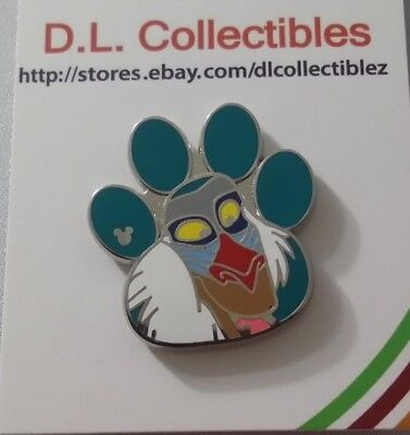 - Disney Lion King Hidden Mickey Paw Prints Rafiki Pin