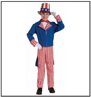 Uncle Sam Kids Costume - 4th of July - Red White & Blue - American Pride!