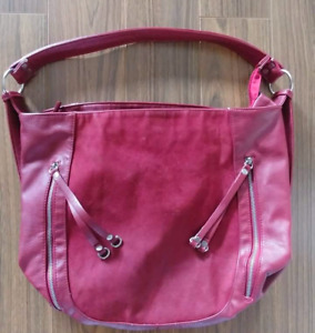Large Red Purse