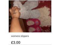 Womens slippers bundle